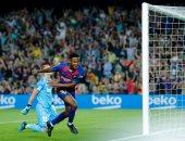 برشلونة يدمر فالنسيا بثنائية فاتى وديونج فى أول 7 دقائق.. فيديو