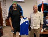 سموحة يتعاقد مع محترفة أمريكية لدعم فريق السلة