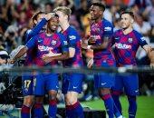 برشلونة يتفوق على فالنسيا 2 - 1 فى الشوط الأول بالدوري الإسباني.. فيديو