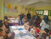 وكيل تعليم الدقهلية يتفقد مدرسة 25 يناير لمتابعة انتظام الدراسة برياض الأطفال.. صور