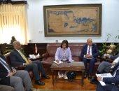 رئيس جامعة الإسكندرية يستقبل رئيس جامعة أوشن المجتمعية الأمريكية لبحث التعاون المشترك