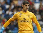 كورتوا يكسب ثقة جماهير ريال مدريد بعد التألق ضد ليفانتي.. فيديو
