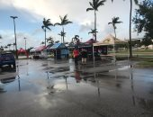 صور.. العاصفة المدارية أومبرتو تجتاح جزر الباهاما ومخاوف من تحولها لإعصار