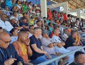 رئيس الكاف يحضر مباراة فوسا جينيور ومازيمبى فى دورى أبطال أفريقيا
