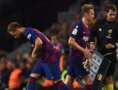جماهير برشلونة تدعم راكيتيتش ضد اضطهاد فالفيردى