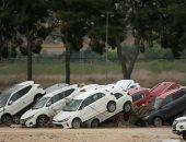 آثار كارثية بسبب الفيضانات فى إسبانيا