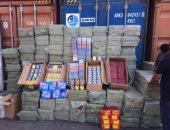 ضبط 6 ملايين عبوة ألعاب نارية قادمة من الصين عبر ميناء الإسكندرية