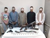 ضبط 5 قطع سلاح خلال حملة أمنية بمركز شرطة القوصية بأسيوط