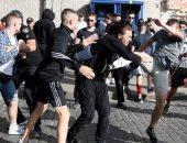 الاعتداء على مسيرة للمثليين فى أوكرانيا
