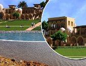 تعرف على أعمال التطوير الجارية بمحيط متحف الحضارات بمصر القديمة