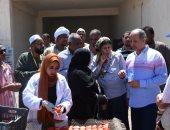 تعرف على مشروعات برنامج الأغذية العالمى للأمم المتحدة بأسوان.. صور