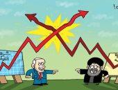 كاريكاتير الصحف الإماراتية.. تضارب تسويق شعبية حزب الله و الليكود