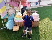 أول يوم مدرسة.. زين العابدين يبدأ رحلته لمرحلة KG2