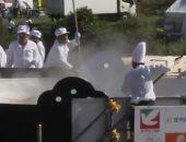 فيديو.. تعرف على مقادير أكبر طبق حساء يابانى عرضه 6 أمتار ونصف متر