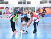 إقامة أول كأس إقليمى للفلوربول للأولمبياد الخاص بالقاهرة نوفمبر المقبل