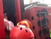 شاهد.. وحدة طوارئ عسكرية لإنقاذ طفل رضيع فى إسبانيا