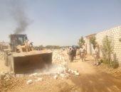محافظ أسيوط: إزالة 16 حالة تعدى على أراضى أملاك دولة ومخالفات بناء بمركز الغنايم