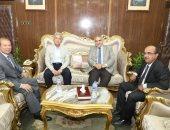 محافظ المنوفية يناقش التعاون مع العربية للتصنيع لتطوير منظومة النظافة