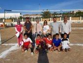 صور .. الشباب والرياضة بالبحر الأحمر تنظم لقاءات رياضية شاطئية للشباب بالغردقة