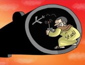 كاريكاتير الصحف الإماراتية.. طائرات الحوثى المسيرة فى مرمى نيران قوات التحالف