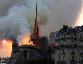 كاتدرائية نوتردام تدق أجراسها مع لحظة تصفيق فرنسا للأطباء فى أول ذكرى لحريقها