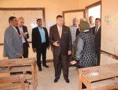 محافظ بنى سويف يمهل مسؤولى التعليم 48 ساعة لاستكمال تجهيزات المدارس