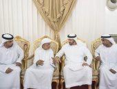 محمد بن زايد يقدم واجب العزاء في شهداء الإمارات
