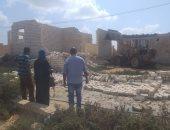 صور.. إزالة التعديات على أراضى الدولة ببرج العرب غرب الإسكندرية