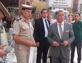 مدير أمن المنوفية يتفقد الخدمات الأمنية بمركزى منوف والباجور