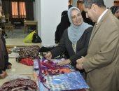 انطلاق المعرض الثانى للأسر المنتجة بجامعة القناة