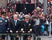احتفالات المكسيك بذكرى يوم الاستقلال فى العاصمة مكسيكو سيتى