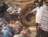 إعدام 32 طن صلصة منتهية الصلاحية ضُبطت بمصنع فى العاشر من رمضان