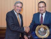 محافظ الإسكندرية يستقبل سفير البرازيل لبحث سبل التعاون بين الجانبين
