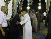 توافد المواطنين على عزاء الدكتور سعد جويش فى موطنه بكفر الشيخ
