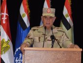 رئيس الأركان يشهد المرحلة الرئيسية لأحد المشاريع بالجيش الثانى الميدانى