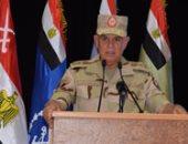 """الفريق محمد فريد يشهد المرحلة الرئيسية للمشروع التكتيكى """"طارق 50"""" بالمنطقة الشمالية"""