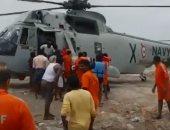 شاهد.. السلطات الهندية تواصل البحث عن ناجين بعد غرق مركب سياحى