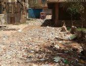 قارئ يشكو من انتشار القمامة بشارع السودان بالمهندسين أمام مدرسة الصنايع
