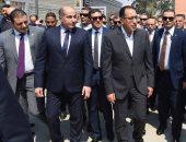 رئيس الوزراء يتفقد مركز خدمة المستثمرين بمدينة نصر وتطوير المنطقة الحرة