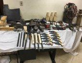ضبط ورشة لتصنيع الأسلحة النارية وبحوزتهم 22 بندقية ضغط هواء بكفر الشيخ