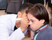 صور ..توقيع الكشف الطبى على 1700 حالة من أهالى قرية سجين الكوم بالغربية
