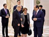 الرئيس السيسي يؤكد لوزير خارجية فرنسا موقف مصر الداعم للحل السياسى فى سوريا