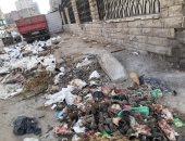 تراكم للقمامة عند مسجد الرواس.. شكوى سكان السيدة زينب