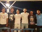 محمد نجيب ينشر صورة مع نجوم الأهلي في معسكر الجونة