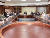 محافظ بني سويف يبحث مع رئيس هيئة تنمية الصعيد سبل الدفع بالخطة التنموية