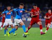 """نابولى ضد ليفربول.. الريدز يتأخر بهدف من ركلة جزاء """"فيديو"""""""