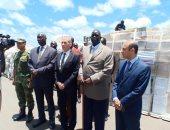 صور.. استمرار تسليم شحنات المساعدات المصرية إلى الأشقاء في جنوب السودان