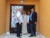 """مساعد نائب رئيس""""المجتمعات العمرانية"""" يتفقد مشروعات الإسكان بمدينة حدائق أكتوبر"""