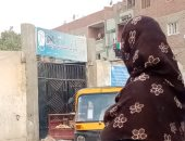 القمامة تحاصر إحدى مدارس منطقة ترسا بأبو النمرس فى الجيزة ..صور