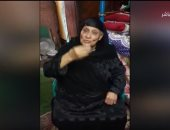 """فيديو.. """"ذكرتى فى القرآن والنصر فيكي أنتى"""".. مسنة تلقى قصيدة فى حب مصر والسيسى"""